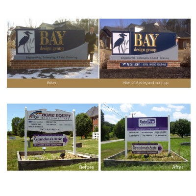 Before-After Signs